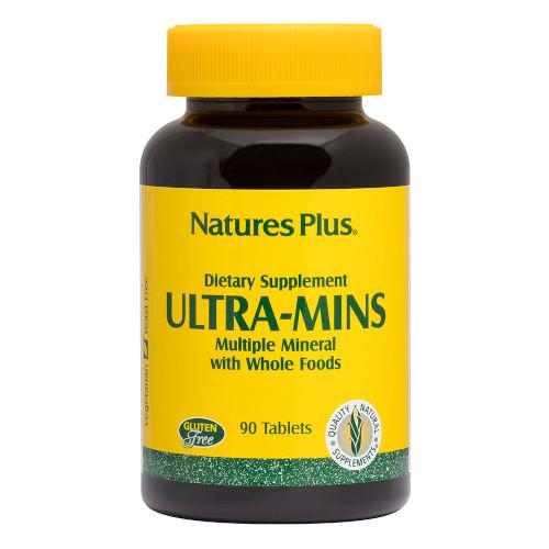 Nature's Plus Ultra Mins Tablets 90-Nature's Plus-Ur Vitamins