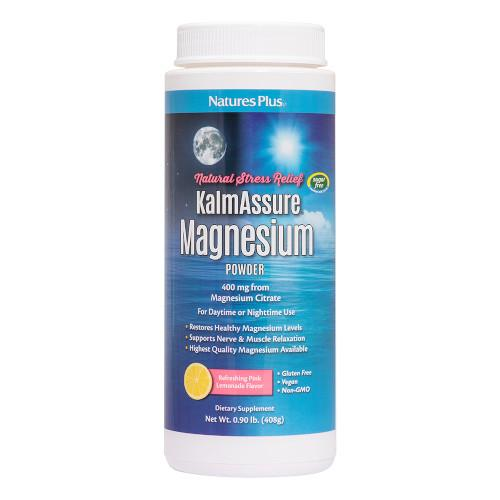 Kalmassure Magnesium Lemonade Powder-Nature's Plus-Ur Vitamins