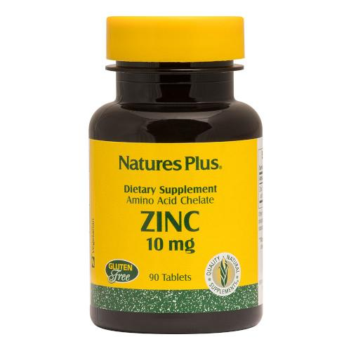 Nature's Plus Zinc 10 Mg Tablets 90-Nature's Plus-Ur Vitamins