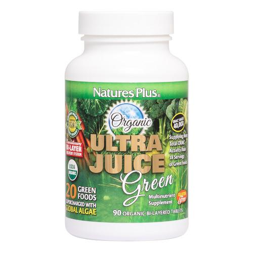 Nature's Plus Ultra Juice Green 90 Tablets-Nature's Plus-Ur Vitamins