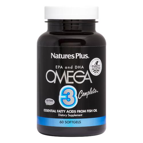 Nature's Plus Omega 3 Complete Softgels 60-Nature's Plus-Ur Vitamins