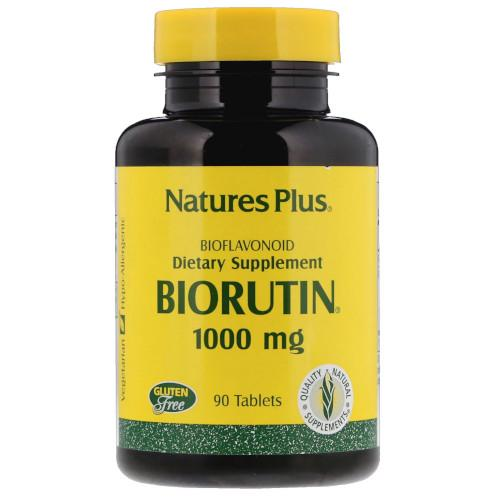 Nature's Plus Biorutin 1000 Mg 90 Tablets-Ur Vitamins