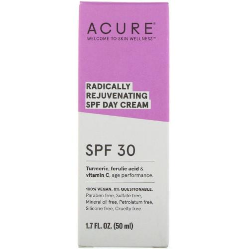 Acure Radically Rejuvenating Day Cream SPF 30 1.7 fl oz