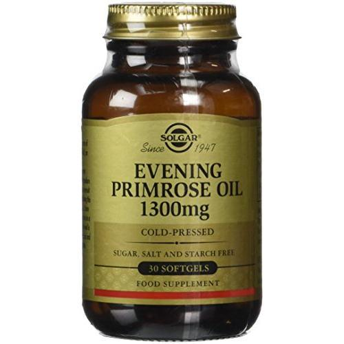 Solgar - Evening Primrose Oil 1300 mg 30 Softgels|Solgar - Evening Primrose Oil 1300 mg 30 Softgels