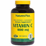 Nature's Plus Vitamin C 1000 Mg 180 Tabs-Nature's Plus-Ur Vitamins