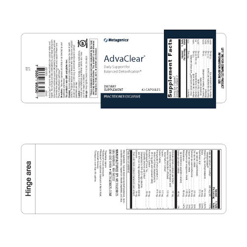 Metagenics AdvaClear 42 vcaps