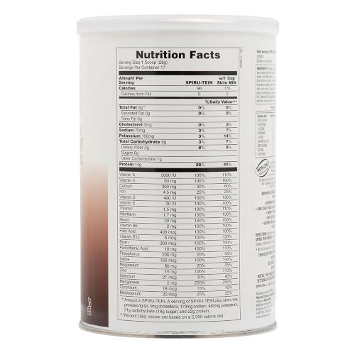 Spirutein Chocolate Shake 1.05 Lb-Nature's Plus-Ur Vitamins