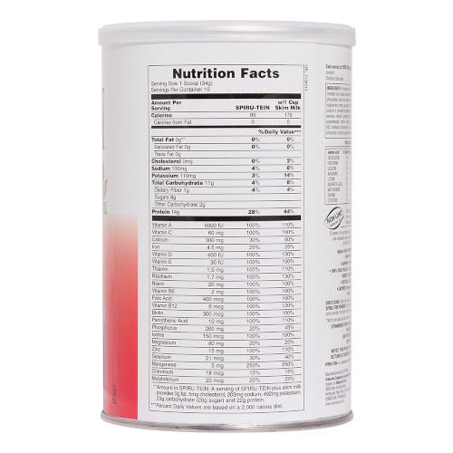 Spirutein Strawberry Shake 1.2 Lb-Nature's Plus-Ur Vitamins