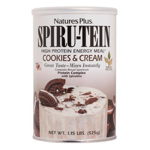 Spirutein Cookies & Cream Shake 1.15 Lb-Nature's Plus-Ur Vitamins
