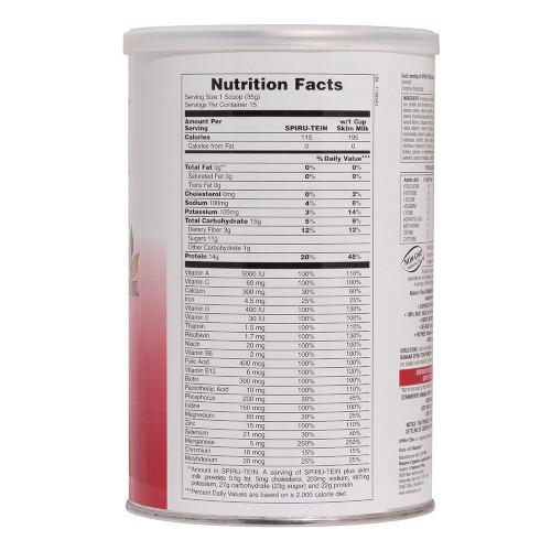 Spirutein Strawberry Banana Shake 2.24Lb-Nature's Plus-Ur Vitamins