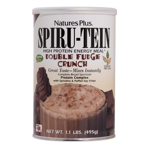 Spirutein Double Fudge Crunch 1.1Lb-Nature's Plus-Ur Vitamins