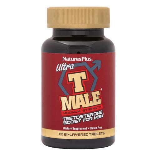 Nature's Plus T Male Ultra Testosterone Boost For Men-Nature's Plus-Ur Vitamins