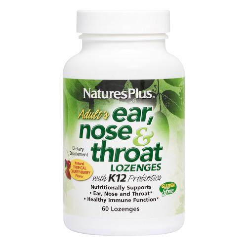 Adult's Ear Nose & Throat Lozenges 60-Nature's Plus-Ur Vitamins