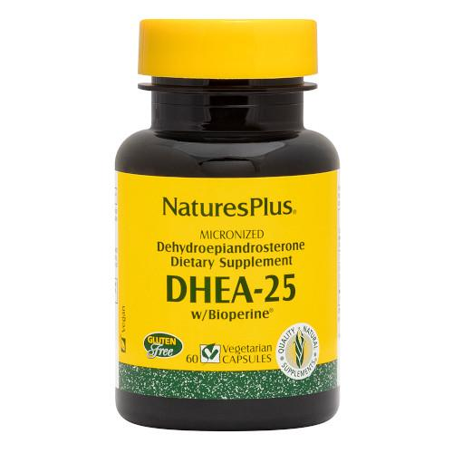 Nature's Plus DHEA-25 25 Mg 60 Vcaps-Nature's Plus-Ur Vitamins