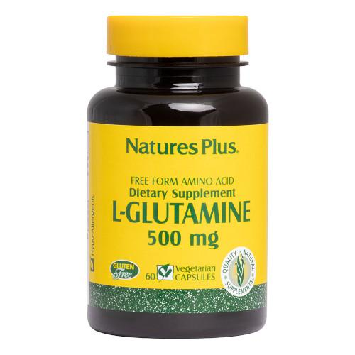 Nature's Plus L-Glutamine 500 Mg Vcaps 60-Nature's Plus-Ur Vitamins