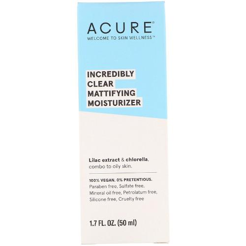 Acure Incredibly Clear Mattifying Moisturizer 1.7 fl oz
