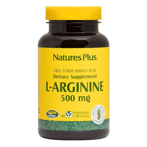 Nature's Plus L-Arginine 500 Mg Vcaps 90-Nature's Plus-Ur Vitamins