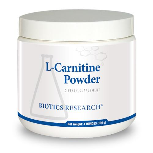 Biotics Research L-Carnitine Powder 100 G