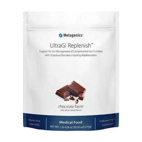 Metagenics - UltraGI Replenish Chocolate 14 Servings