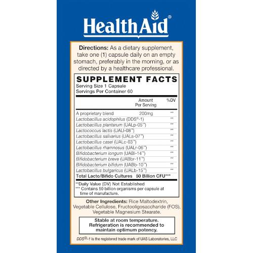 ImmuProbio 50 Billion 30 Caps-Health Aid America-Ur Vitamins