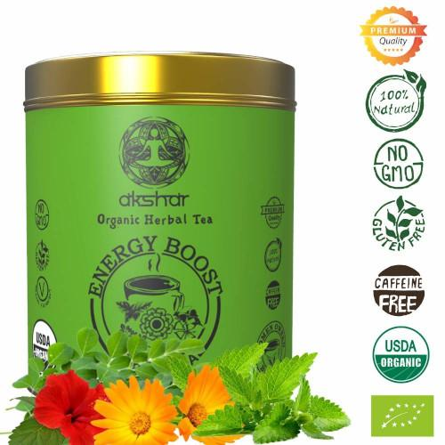 Energy Boost Organic Herbal Tea