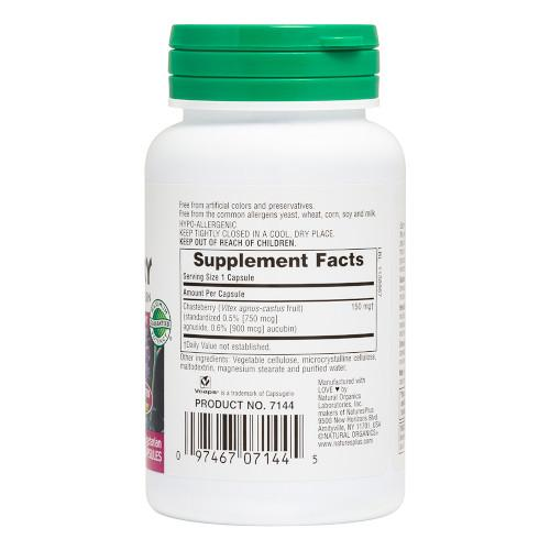 Nature's Plus Chasteberry Vcaps 60-Nature's Plus-Ur Vitamins