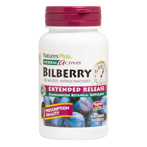 Nature's Plus Bilberry 100 Mg 30 Tabs-Nature's Plus-Ur Vitamins