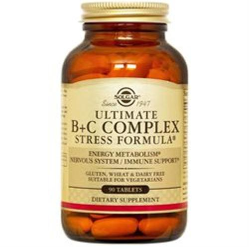 Solgar - Ultimate B+C Complex 90 Tablets