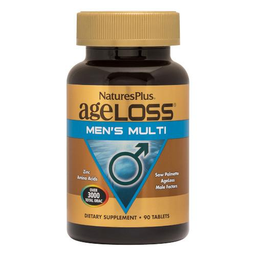 AgeLoss Mens Multi 90 Tablets-Nature's Plus-Ur Vitamins