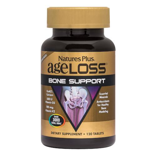 AgeLoss Bone Support 120 Tablets-Nature's Plus-Ur Vitamins