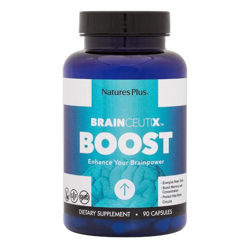 Nature's Plus Brainceutix Boost 90 Caps-Nature's Plus-Ur Vitamins