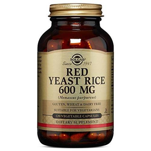 Solgar - Red Yeast Rice 120 VCaps