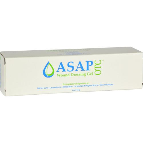 ASAP OTC Wound Dressing Gel 4 oz Cuts Burns-Silver Biotics-Ur Vitamins