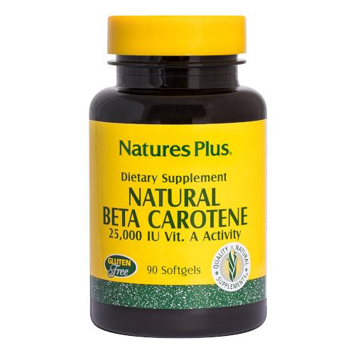 Nature's Plus Natural Beta Carotene 90 Softgels-Nature's Plus-Ur Vitamins
