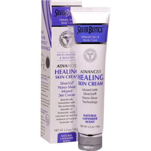 Silver Biotics Advanced Healing Skin Cream Lavender 1.2 oz-Silver Biotics-Ur Vitamins