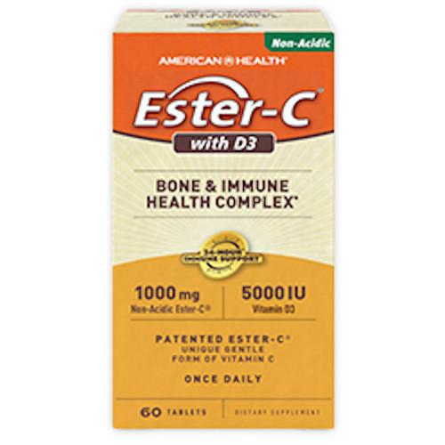 Ester-C 1000 mg with D3 5000 IU 60 VTablets