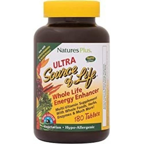 Ultra Source Of Life With Lutein Tablets 180-Nature's Plus-Ur Vitamins