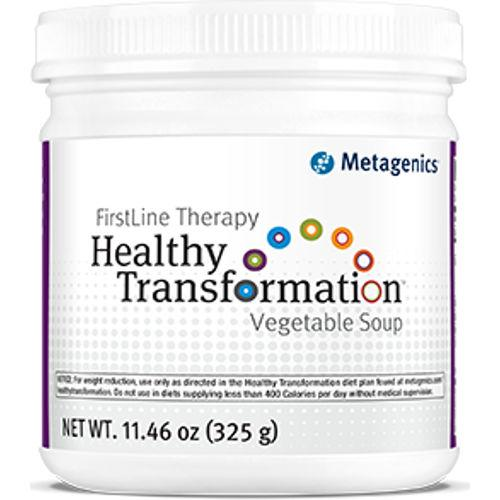 Metagenics - Healthy Transformation Vegetable Soup Protein 10 Servings|