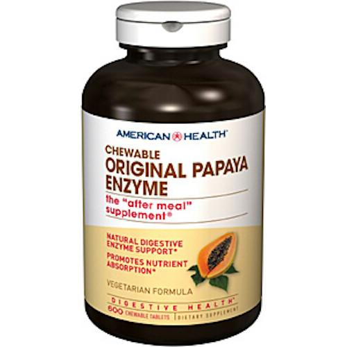 Original Papaya Enzyme 600 Tablets