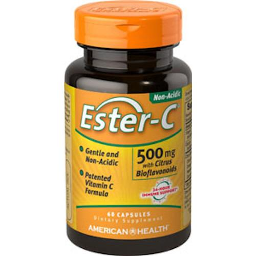 Ester-C 500 mg with Citrus Bioflavonoids 60 Caps