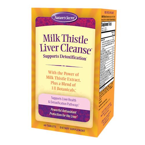 Nature's Secret Milk Thistle Liver Cleanse 60 Tabs-Nature's Secret-Ur Vitamins