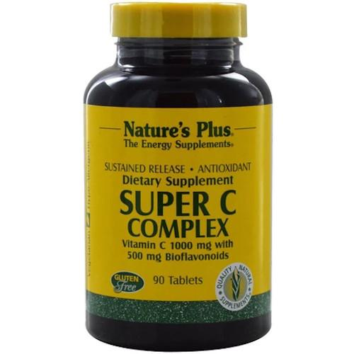Nature's Plus Super C Complex 90 Tablets-Nature's Plus-Ur Vitamins