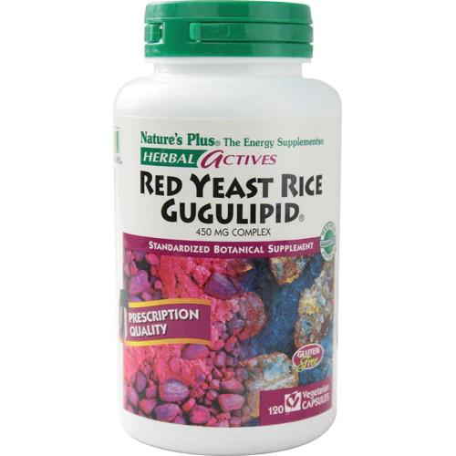 Nature's Plus Red Yeast Rice Gugulipid Vcaps 120-Nature's Plus-Ur Vitamins