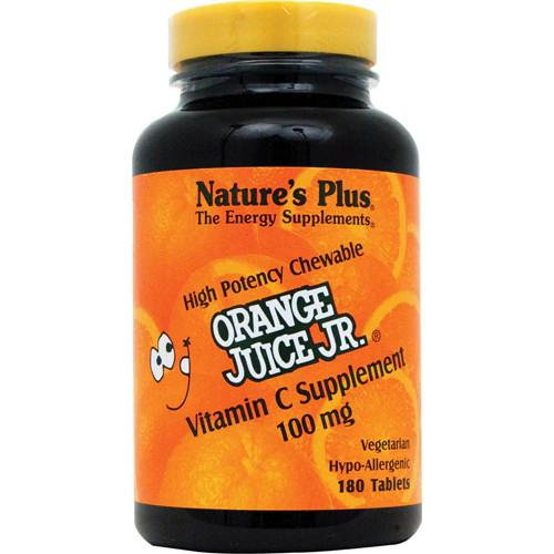 Nature's Plus Orange Juice Jr 100 Mg Chewable-Nature's Plus-Ur Vitamins