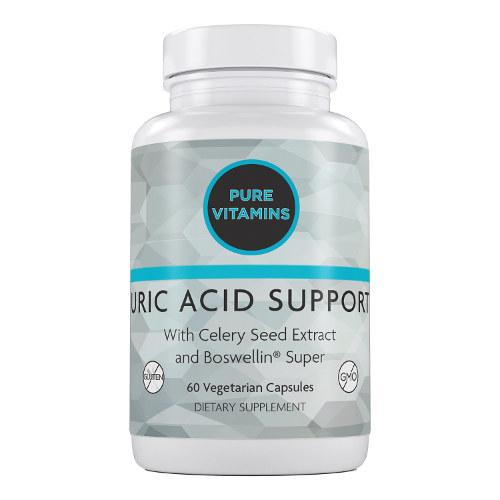PURE VITAMINS URIC ACID SUPPORT 60 VCAPS