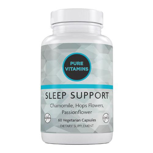 PURE VITAMINS SLEEP SUPPORT 60 VCAPS