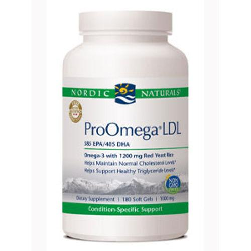 Nordic Naturals ProOmega LDL 1000 mg 180 Softgels||
