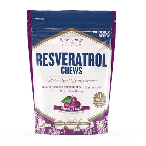 ReserveAge Resveratrol Chews Anti Aging Treats-ReserveAge-Ur Vitamins
