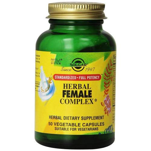 Solgar - Herbal Female Complex 50 VCaps