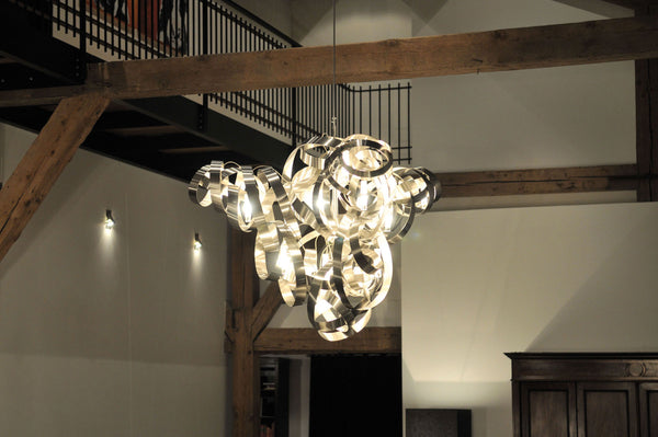 Montone Triangle Chandelier